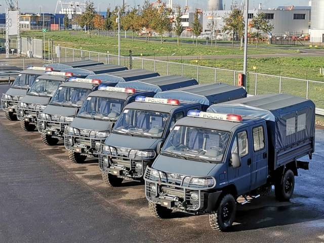 Fiat SMT55 4x4 Crew Carriers