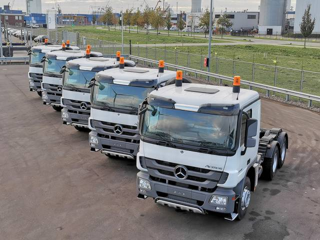 Mercedes-benz Actros 3340-S 6x4 Tractor heads