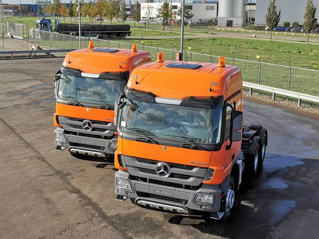 Mercedes-benz Actros 3344-S 6x4 Tractor Heads